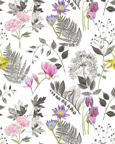 watercolor botanical pattern 17 best ideas about floral print wallpaper on pinterest