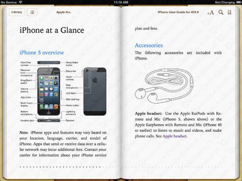 iphone 5 ecco il libretto di istruzioni da scaricare puntocellulare it