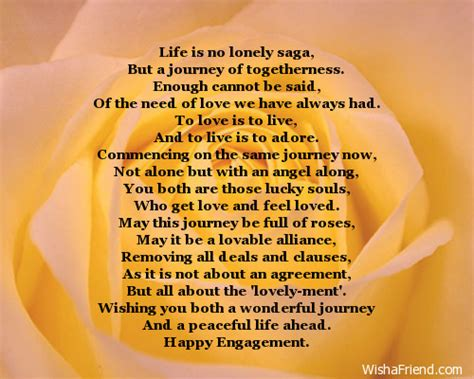 Message In Engagement Card
