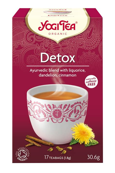 Yogi Detox Tea Recipe by Detox Yogi Tea 174