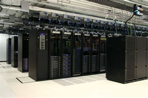 Rack In Data Center by Rackspace Spends Big Bucks To Peddle Its Cloud Vision