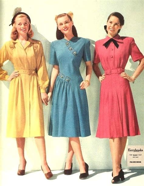 1940s womens fashion best 25 1940s fashion dresses ideas on pinterest 1940s
