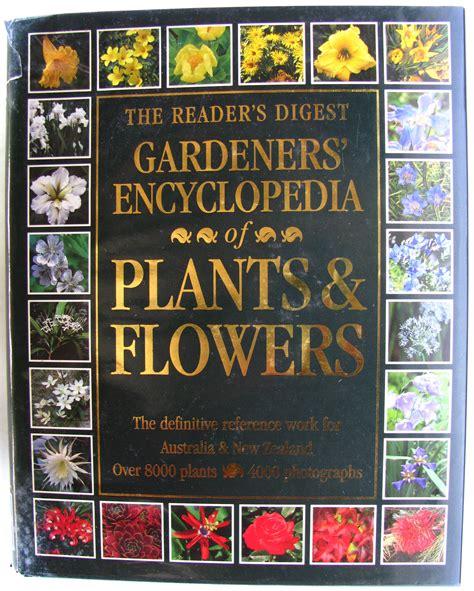 jl12 the reader s digest gardeners encyclopedia of plants flowers hc ac 9780864381927 ebay