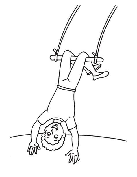 Upside Down Coloring Page | acrobat upside down coloring page download free acrobat