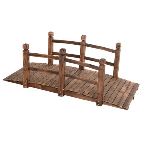 how to build a wooden bridge 5 wooden bridge stained finish decorative solid wood