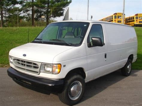 how things work cars 2002 ford econoline e250 seat position control purchase used 2002 ford e 250 cargo van lexington kentucky in lexington kentucky united states