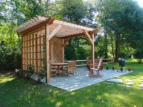 backyard renovations custom pergola and patio traditional patio providence by bradford
