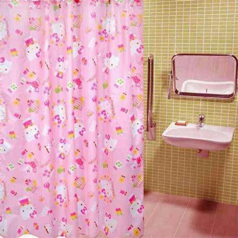 Tirai Kamar Mandi Shower Curtain jual tirai kamar mandi hello bathroom shower