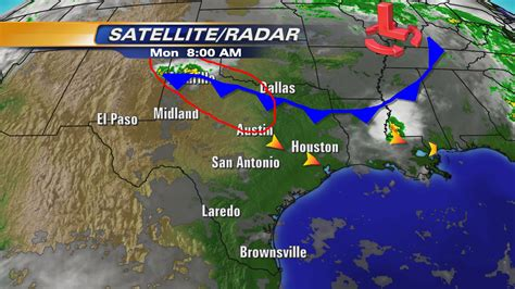 texas weather map today weather map of texas today cakeandbloom