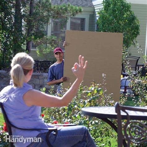 build a privacy fence the family handyman
