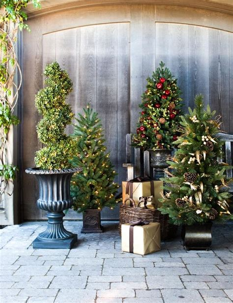 porch christmas trees 30 best images about topiary trees on pinterest wedding