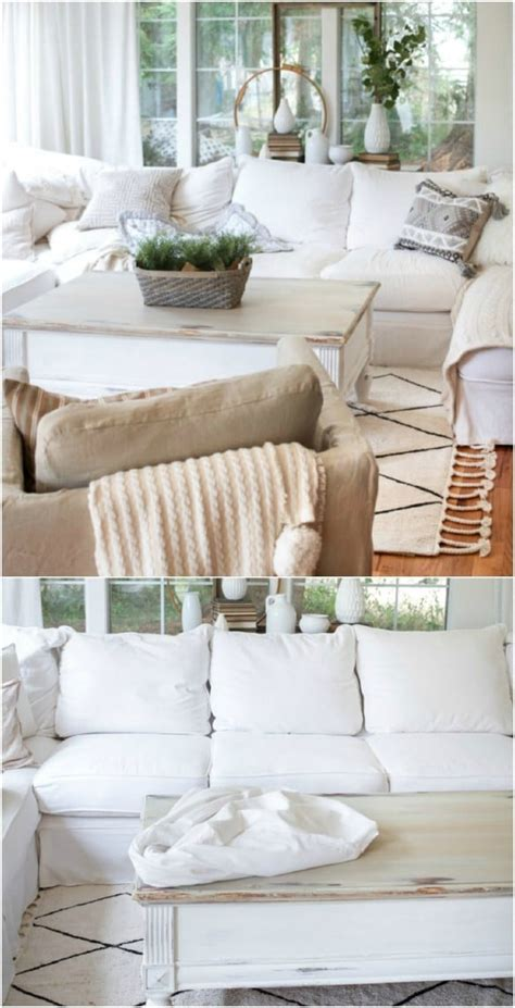 20 easy to make diy slipcovers that add new style to