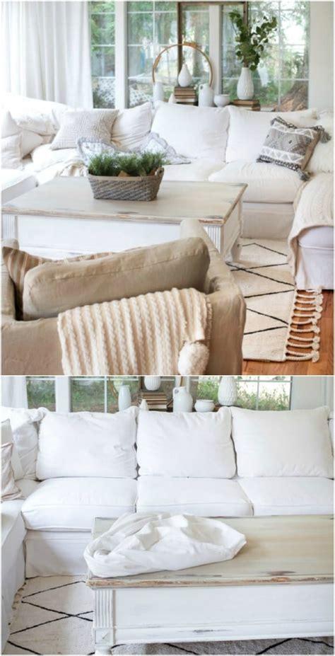 diy sofa slipcovers 20 easy to make diy slipcovers that