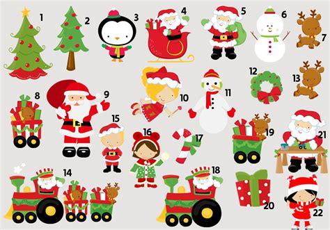 Topper Tusuk Kue Natal B tag topper de natal ideal convites elo7