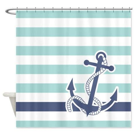 Nautical Striped Curtains Decor Best 25 Blue Shower Curtains Ideas On Shower Coastal Shower Curtains And