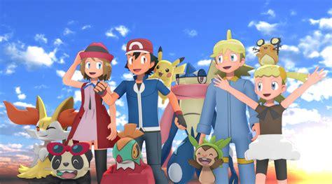 anime xyz mmd pokemon xyz gang by mmdsatoshi on deviantart