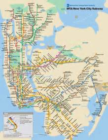 Subway Map Ny by New York City Map Nyc Tourist