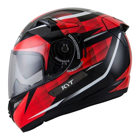 design helm half face jual kyt k2 rider diamond helm full face black red