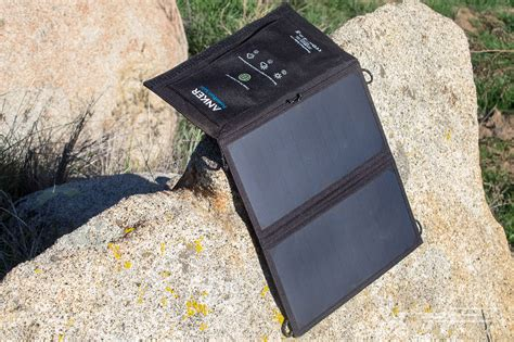 the best portable solar charger the best portable solar battery charger