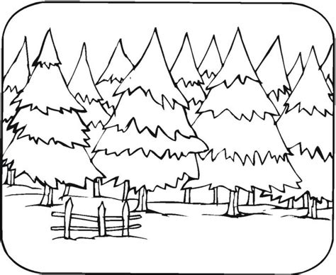 Coloring Page coloring pages forest coloring pages forest