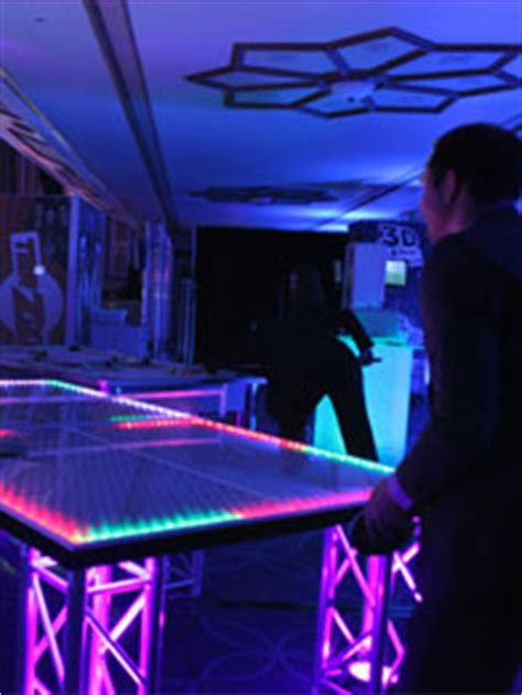 light up ping pong table led light up ping pong table