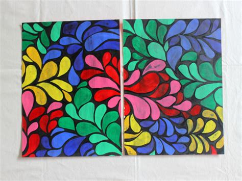batik design on paper how to make table mats at home diy the craftables
