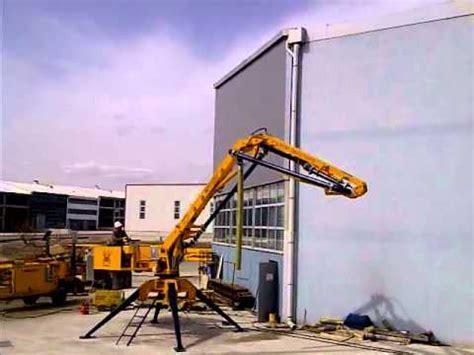new putzmeister spider concrete placing booms concrete pum