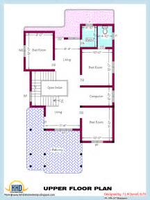 Sq Ft 2318 Square Home Plan And Elevation Indian House Plans