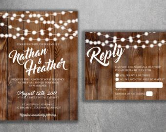 Cheap Fast Wedding Invitations by Wedding Invitations Etsy