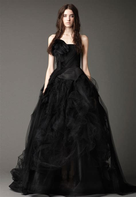 Brautkleider In Schwarz by 2015 Wedding Dress Trends Black Fashion Fuz
