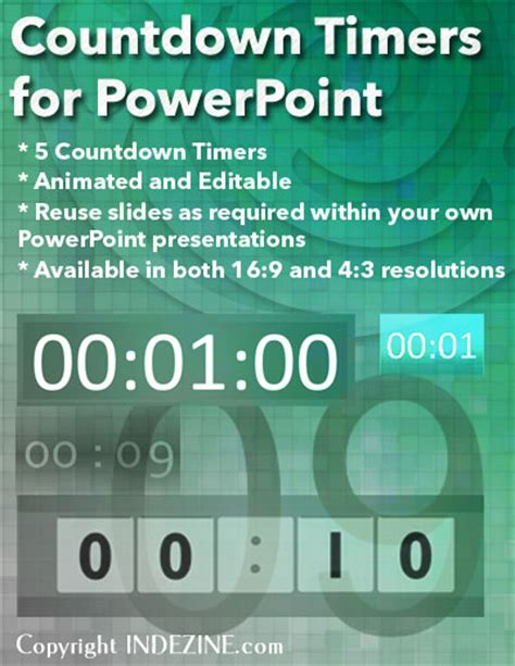Countdown Timers For Powerpoint Countdown Timer For Ppt