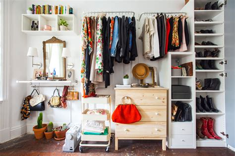 ikea open closet no closets no problem here s how to live without them