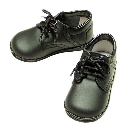 Toddler Boy Size 7 Dress Shoes by Baby Toddler Boys Black Classic Saddle Style Dress Shoes Size 1 7 Walmart