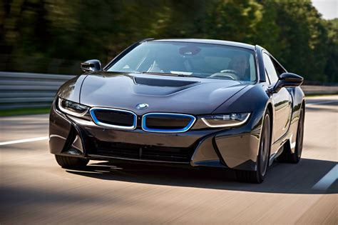 bmw supercar bmw i8 supercar plugged in and powered up car