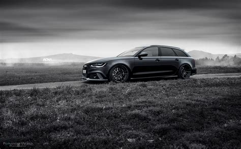 Black Audi Rs6 Avant Adv5 2 M V2 Cs Adv 1 Wheels