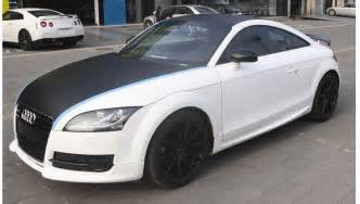 Audi Tt Carbon Fiber Carbon Fiber Wrapping Cerna Car Wrap