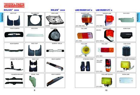 toyota pars catalog toyota hilux parts html autos weblog