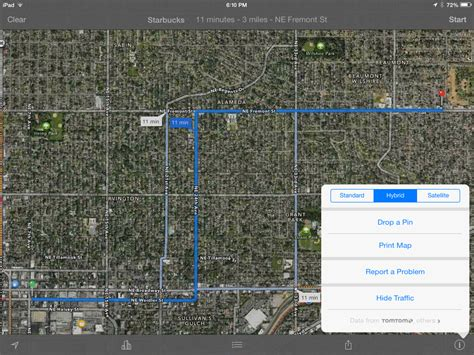 printable driving directions for ipad how to print driving directions directly from iphone ipad