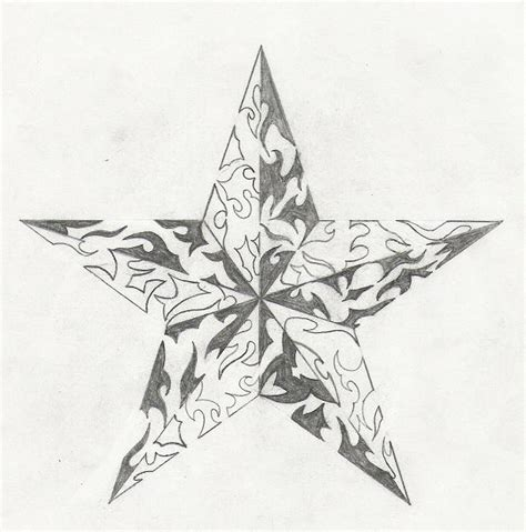 star designs coloring pages tribal star by kredence101 on deviantart