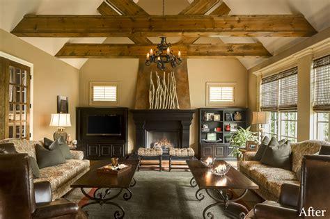 great room design ideas country french family rooms decor office furniture rustic kitchen fireplace decorating open designs lighting interior