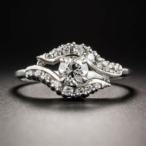 52 carat vintage engagement ring