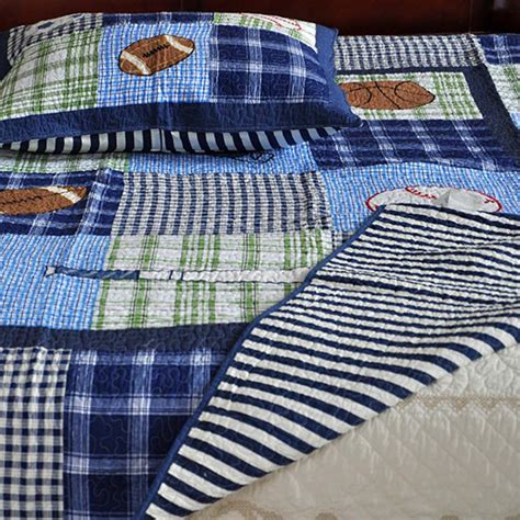 Sports Quilts For Boys by Boys Sports Quilt