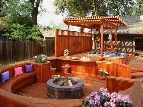 backyard hot tub ideas 7 sizzling hot tub designs outdoor design landscaping