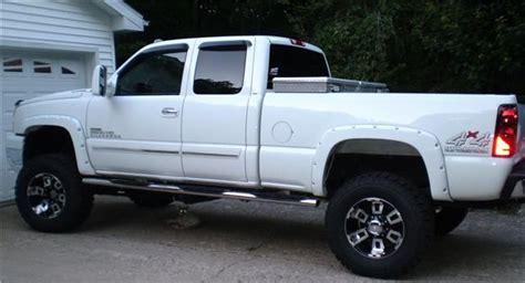 white truck black rims white chevy silverado with black rims search