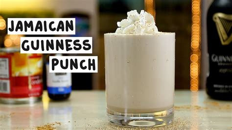 How Does A Sweetened Condensed Guinness Sound by Jamaican Guinness Punch Tipsy Bartender