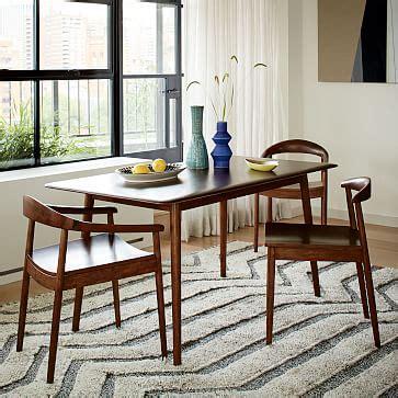 mid century pub table modern dining table elm