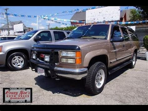 small engine maintenance and repair 1995 gmc 2500 club coupe transmission control 1995 gmc suburban 454 v8 4x4 2500 youtube