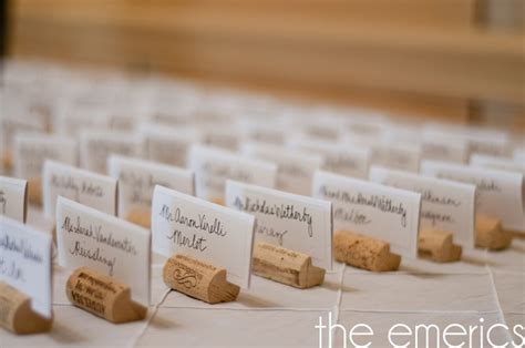 cork place card holders diy diy wine cork place card holders the emerics weddings