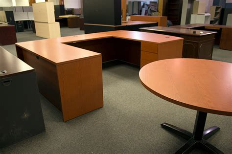 Used Hon U Shaped Desk And Table Office Furniture Warehouse Used U Shaped Desk