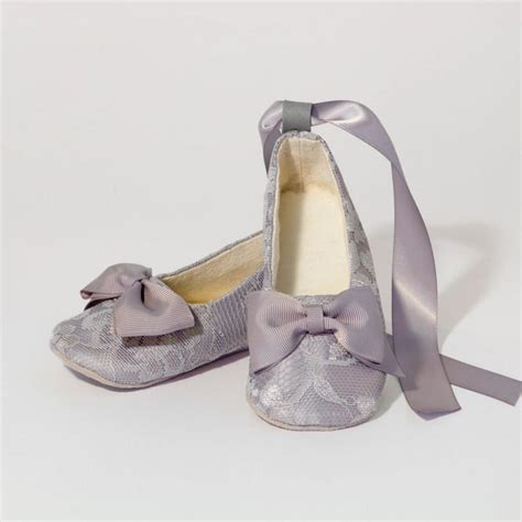 toddler silver shoes silver lace baby toddler shoe gray ballet